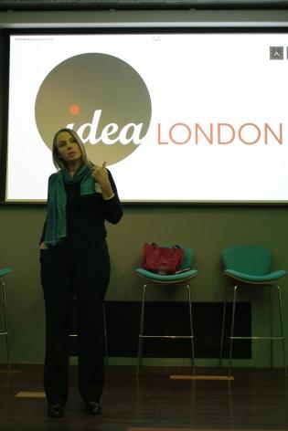 Debbie Forster, our UK Managing Director sharing Apps for Good's journey