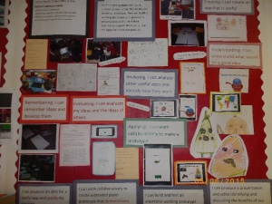 The solo learning wall at Lochdonhead