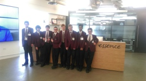 Stem City and Quick Team at the Essence office