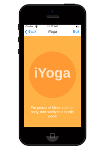 iYoga helps people improve their yoga skills