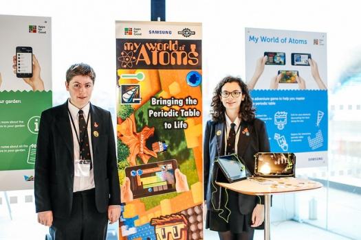 Ben and Rebecca Gilks, creators of My World of Atoms