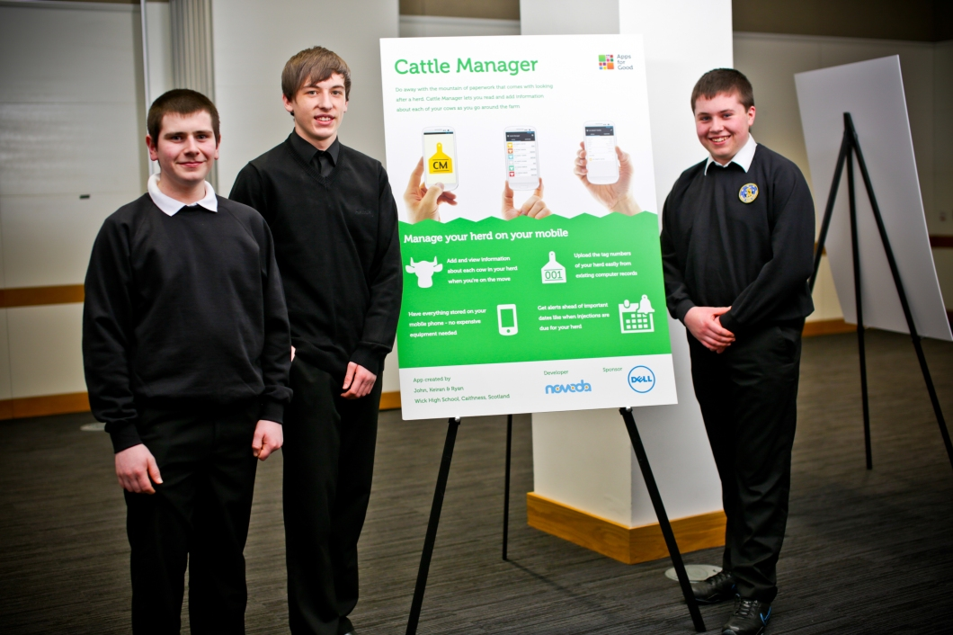 The team behind Cattle Manager app
